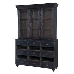 August Grove Elsenborn Wall China Cabinet