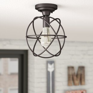 Allagash 1-Light Semi Flush Mount by Trent Austin Design