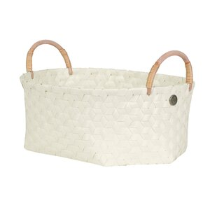 Eucalyptus Plastic Basket By Handed By