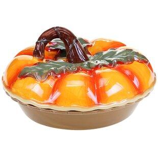 Botanical Harvest 3-D Pumpkin Pie Carrier