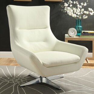 Winningham Swivel Wingback Chair by Orren Ellis Top Reviews