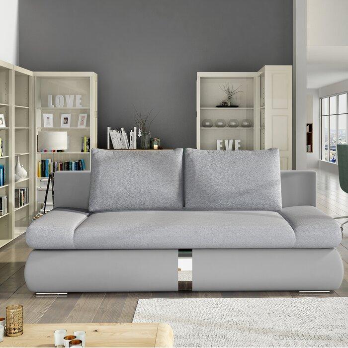 Pleasing Gray Sleeper Sofa Bralicious Painted Fabric Chair Ideas Braliciousco