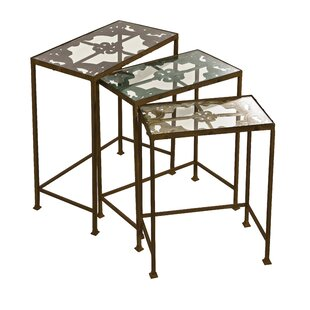 Crosstown 3 Piece Nesting Table Set