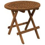 Laguna Solid Wood Side Table