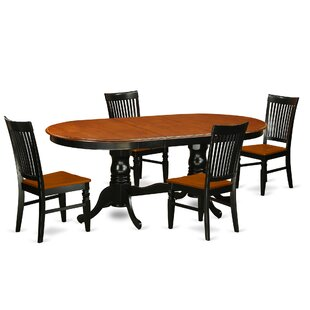 Pilcher 5 Piece Extendable Dining Set August Grove