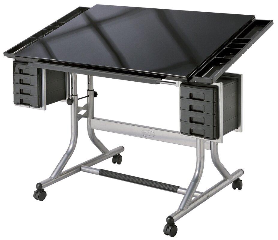 Wonderful ... Glass Drafting U0026 Sewing Tables; SKU: ALV2048. Default_name Amazing Design