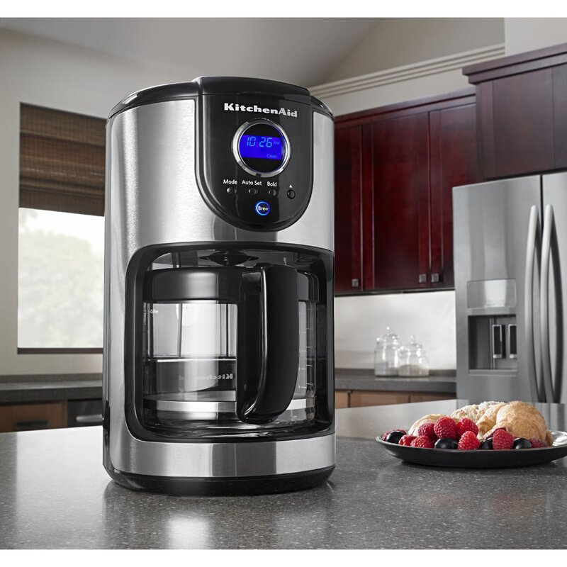 Kitchenaid 12 Cup Programmable Coffee Maker Reviews Wayfair