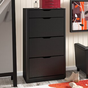Reviews Carnegie 12 Pair Shoe Storage Cabinet By Red Barrel Studio