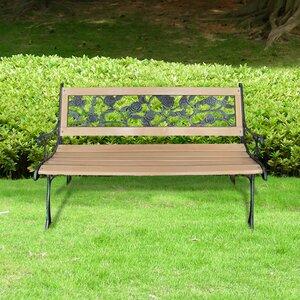 Gartenbank aus Metall von Home Etc