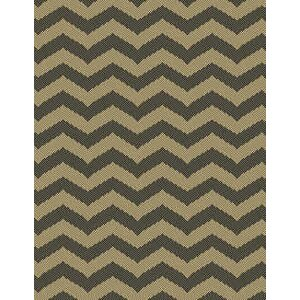 Chevron Brown Indoor/Outdoor Area Rug