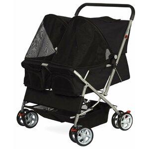 Double Side Foldable Standard Pet Stroller