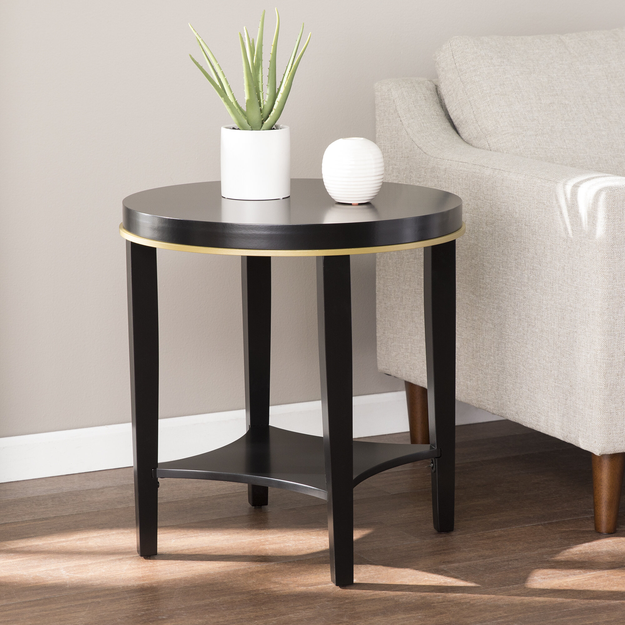 - End Table With Storage Joss & Main