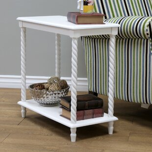 Best Reviews Dolder End Table by Charlton Home