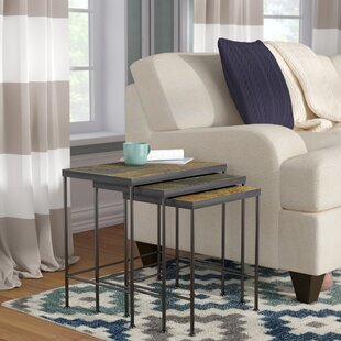 Barker Ridge 3 Piece Nesting Tables by Alcott Hill