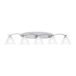 Top Reviews Corwin 5-Light Vanity Light By Andover Mills