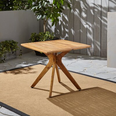 Becker Solid Wood Dining Table by George Oliver Great Reviews