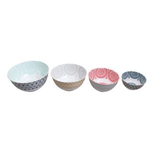 Review Star 4 Piece Melamine Mixing Bowl Set By First Design Global