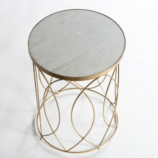 Reviews Nicole End Table by Gabby