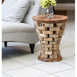Habibi Puzzled End Table by Garden Age