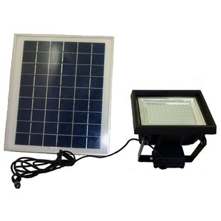 Symple Stuff Heitz Solar Powered Battery Operated Flood Light