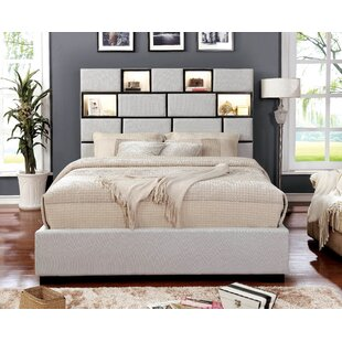 Orren Ellis Widener Upholstered Panel Bed
