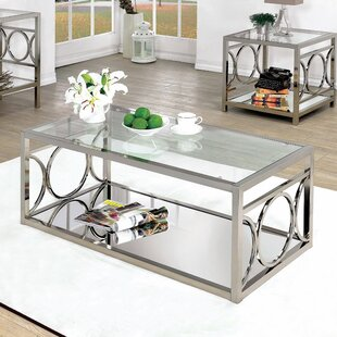 Frederika 2 Piece Coffee Table Set by Willa Arlo Interiors