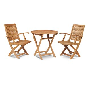 Balsam Folding Teak Patio Dining Chair