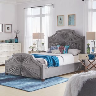 Nolia Upholstered Panel Bed by House of Hampton