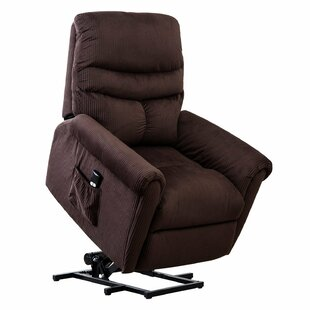 Mac Power Lift Assist Recliner Red Barrel Studio