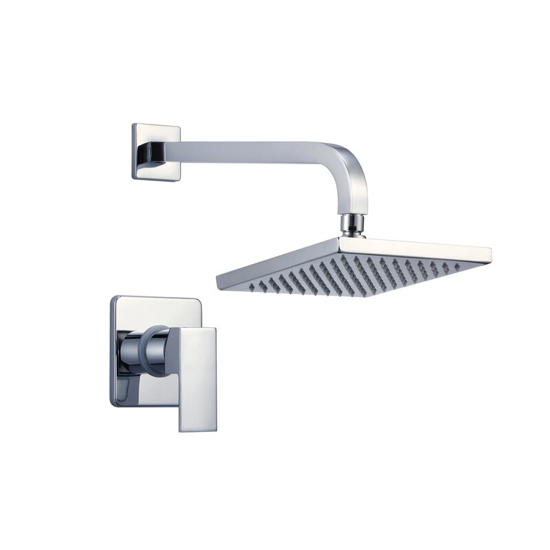 Eisen Home Narmada Thermostatic Shower Faucet with Valve, Trim, and ...
