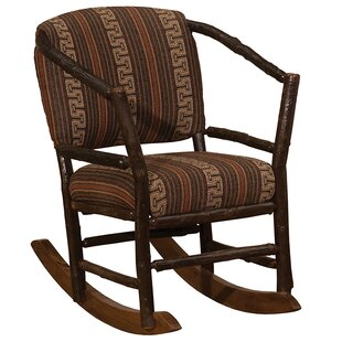 Fireside Lodge Hickory Hoop Rocking Chair