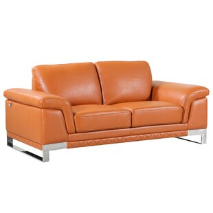 Hawkesbury Common Leather Loveseat