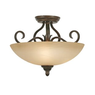 Aileen 3-Light Semi Flush Moun..
