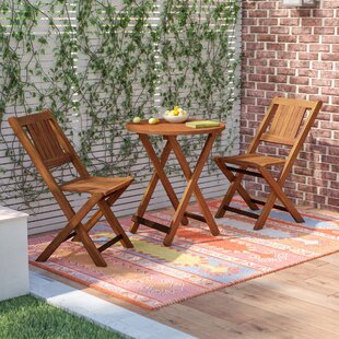 Best Deals Alperin 3 Piece Bistro Set By Mistana