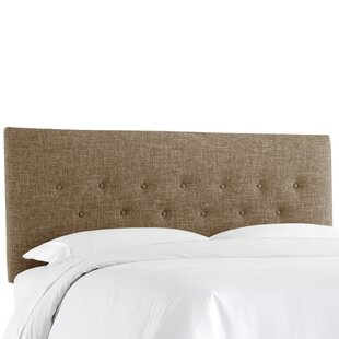 George Oliver Cimino Button Upholstered Panel Headboard