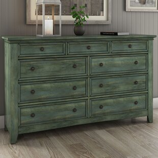 Three Posts Sefton 9 Drawer Dresser