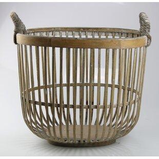 Natural Wicker Basket By Bloomsbury Market