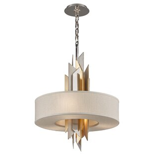 Corbett Lighting Modernist 4-Light Incandescent Pendant
