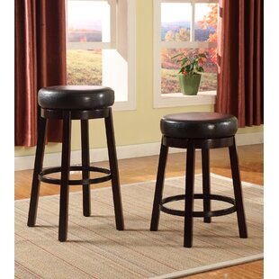Swivel Bar Stool (Set of 2) by Roundhill Furniture