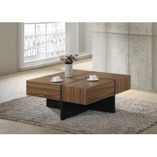 Brayden Studio Chattooga Modern Wood Coffee Table