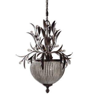 Missenden 3-Light Urn Pendant by Astoria Grand