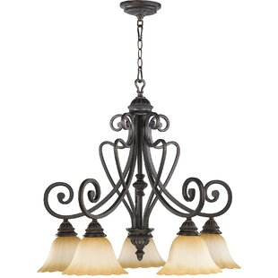 Serio 5-Light Shaded Chandelier by Astoria Grand