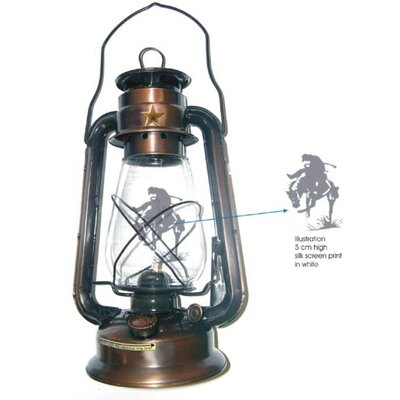 Leigh Country Bronze Rustic Lone Star Lantern