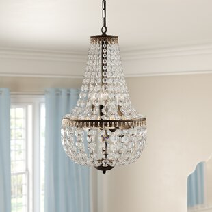 Fraser 6-Light Empire Chandelier by House of Hampton