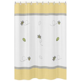 Great choice Honey Bee Cotton Shower Curtain By Sweet Jojo Designs
