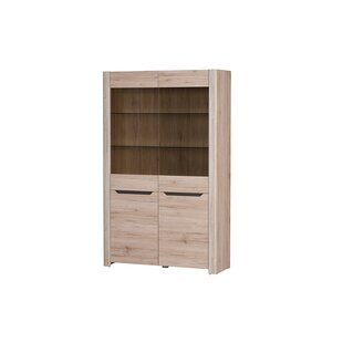 Loon Peak Estrada 2 Door Display Accent Cabinet