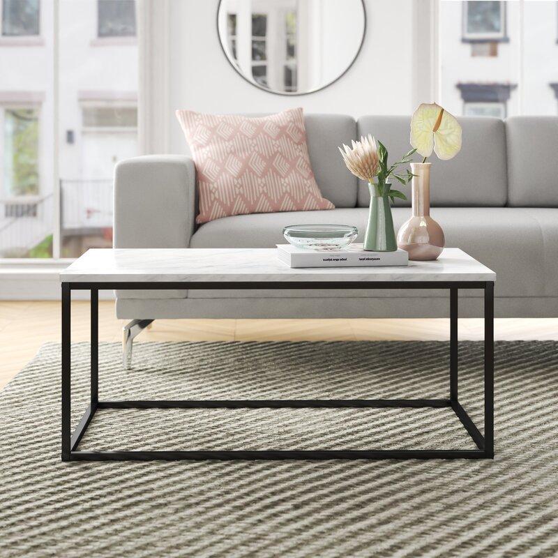Foundstone Dorian Frame Coffee Table Reviews Wayfair