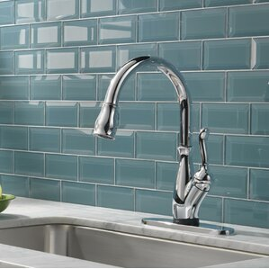 Delta Leland Single Handle Standard Kitchen Faucet