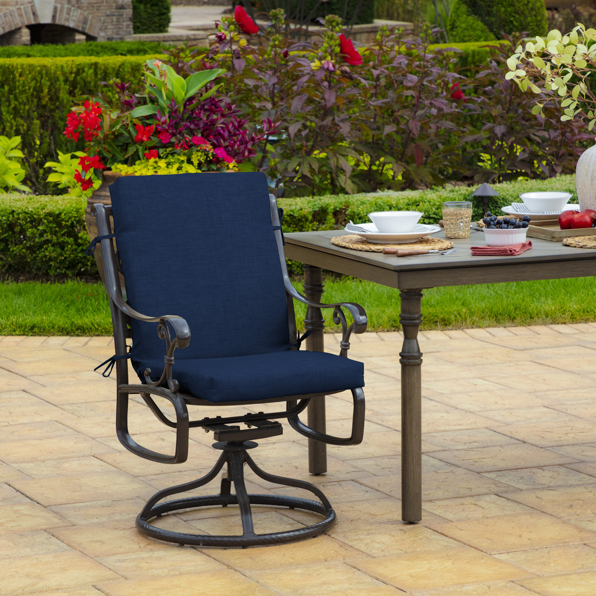 Wayfair Dining Chair Patio Furniture Cushions You Ll Love In 2021