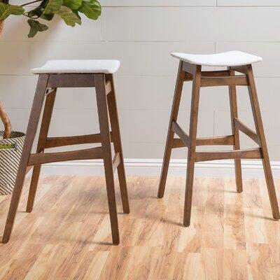 Fabulous Corrigan Studio Burroughs 30 Inch Bar Stool Upholstery Light Ibusinesslaw Wood Chair Design Ideas Ibusinesslaworg